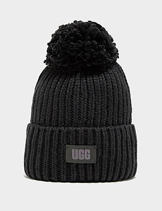 UGG Chunky Knit Pom Beanie