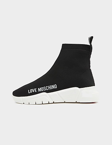 Love Moschino Small Logo Sock Trainers