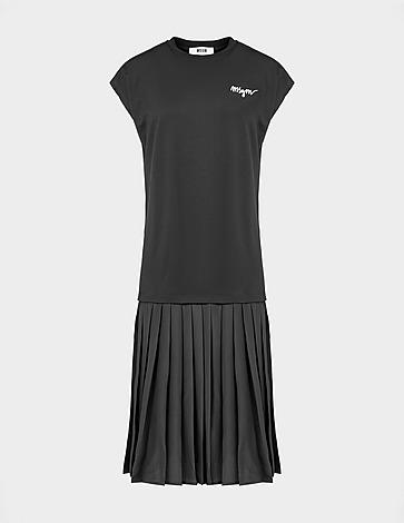 MSGM Sleeveless T-Shirt Dress