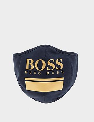 BOSS Logo Face Mask