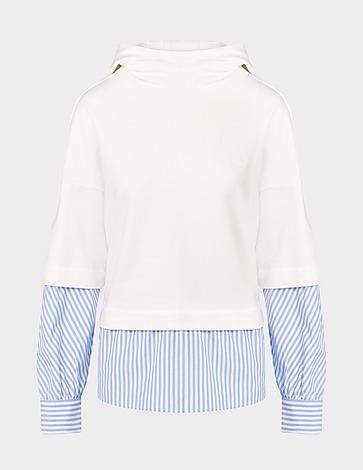 Emporio Armani Contrast Shirt Hoodie
