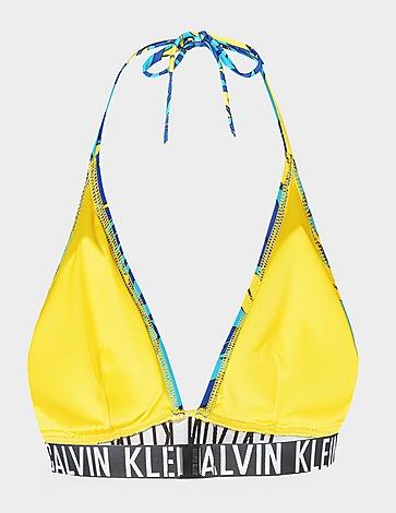 Calvin Klein Swim Tropical Triangle Bikini Top
