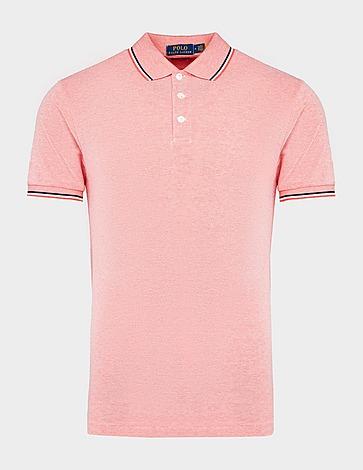 Polo Ralph Lauren Stripe Mesh Polo Shirt