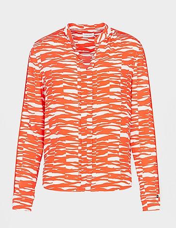 Calvin Klein Womenswear Zebra Shirt