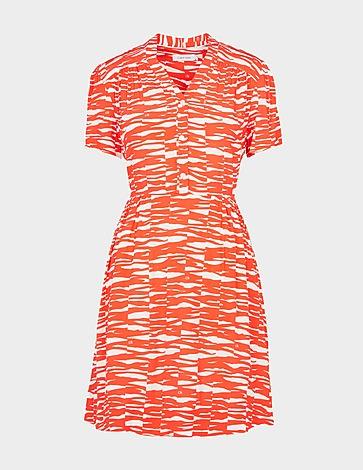 Calvin Klein Womenswear Zebra Shirt Dress