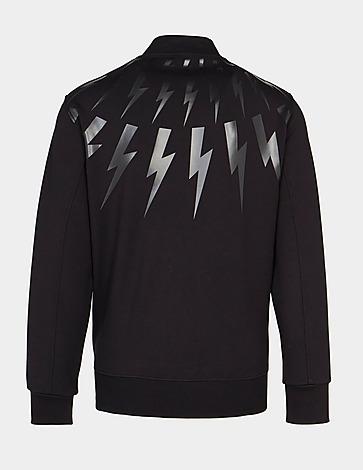 Neil Barrett Bolt Sweatshirt Bomber