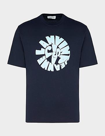 Lanvin Text Circle T-Shirt