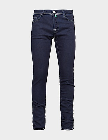 Jacob Cohen Slim Olive Badge Jeans