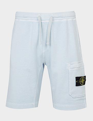 Stone Island Garment Dyed Slub Fleece Shorts