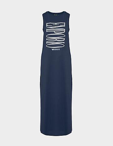 Emporio Armani Loungewear Bold Logo Dress
