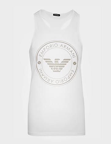 Emporio Armani Loungewear Circle Logo Tank Top