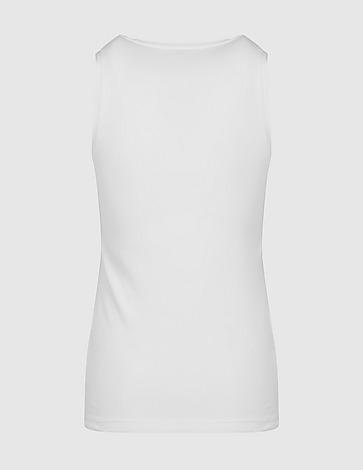 Emporio Armani Loungewear Rose Gold Crystal Tank Top