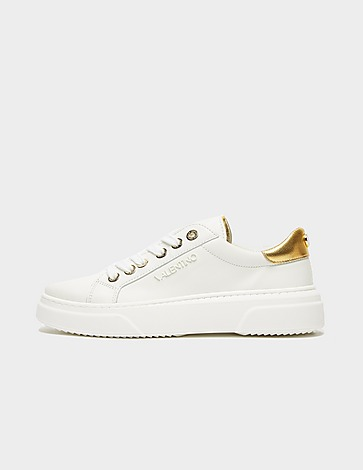 Valentino Shoes Gold Heel Trainers