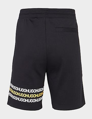 HUGO Dakumi Tape Fleece Shorts
