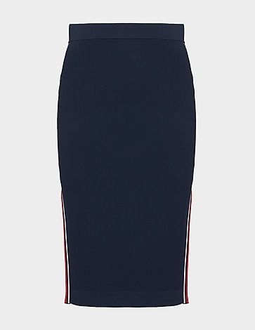Michael Kors Logo Tape Skirt