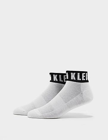 Calvin Klein Underwear Modern Logo Quarter Socks