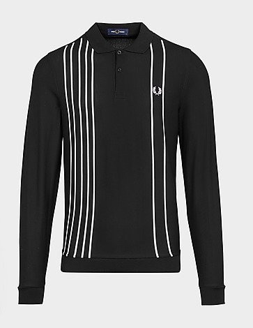 Fred Perry Refined Pique Stripe Polo Shirt