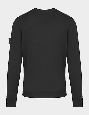 Stone Island Badge Pocket Knitted Sweatshirt