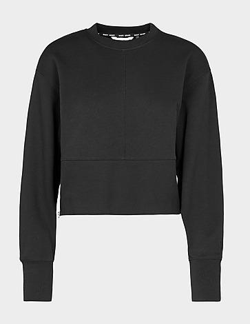 DKNY Zip Side Crew Sweatshirt
