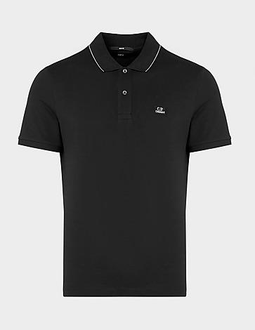 CP Company Tipped Logo Polo Shirt