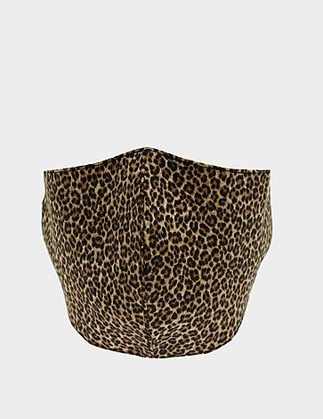 Michael Kors Leopard Print Face Mask