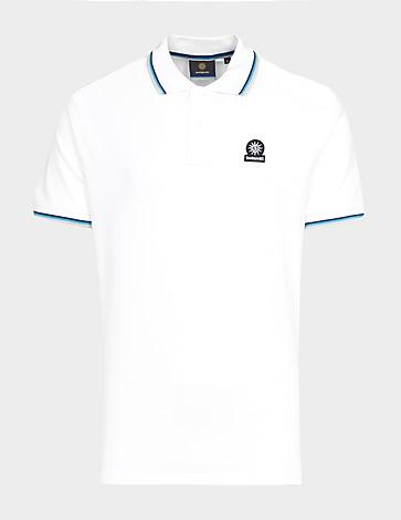Sandbanks Badge Tipped Polo Shirt