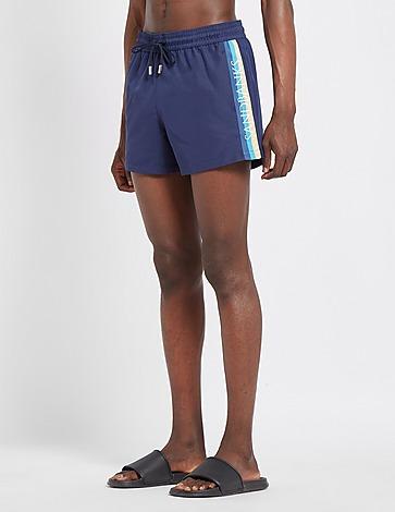 Sandbanks Tape Logo Swim Shorts