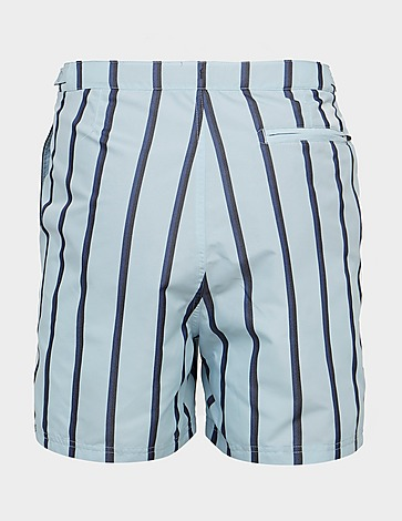 Fred Perry Striped Swim Shorts