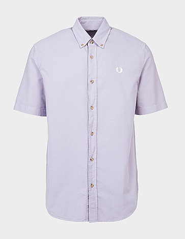 Fred Perry Overdyed Short Sleeve Shirt