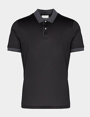 Gran Sasso Basic Merc Tipped Polo Shirt