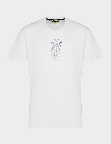 IUTER Letter T-Shirt