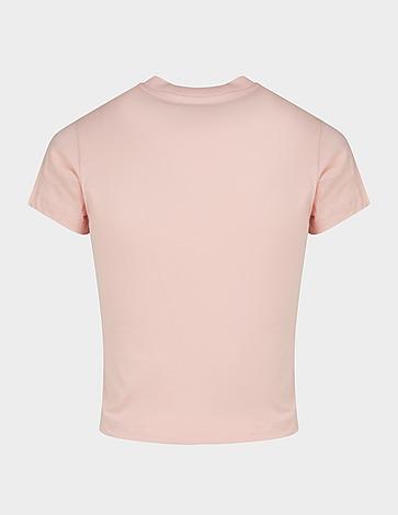 Fiorucci Logo Angels Crop T-Shirt