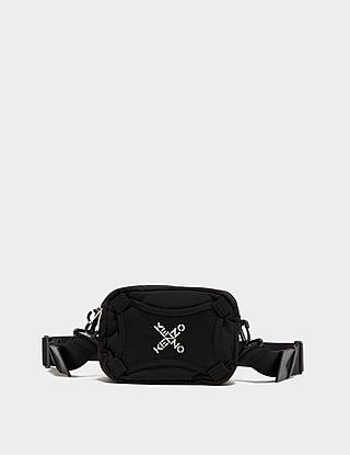 KENZO Cross Logo Cross Body Bag