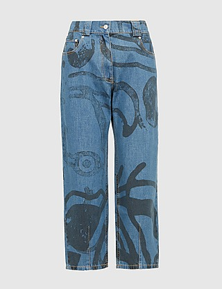KENZO Tiger Denim Jeans