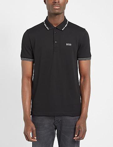 BOSS Paule Linear Collar Polo Shirt