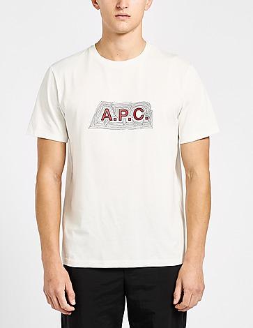 A.P.C Ripple Logo T-Shirt
