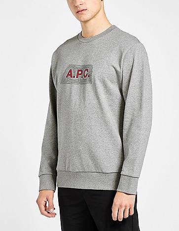 A.P.C Ripple Logo Sweatshirt