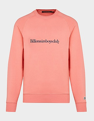 Billionaire Boys Club Script Logo Sweatshirt