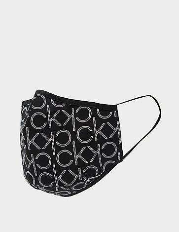 Calvin Klein Monogram Logo Face Mask