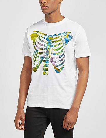 PS Paul Smith Floral Ribs T-Shirt