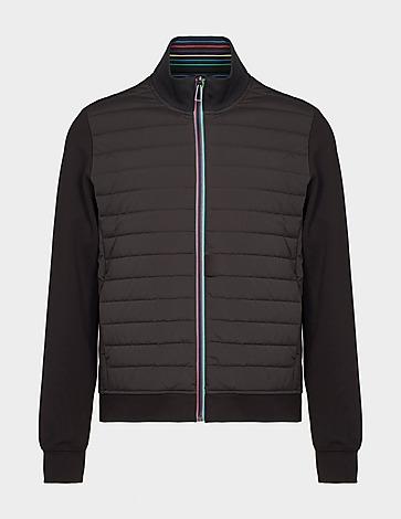 PS Paul Smith Stripe Zip Mix Jacket