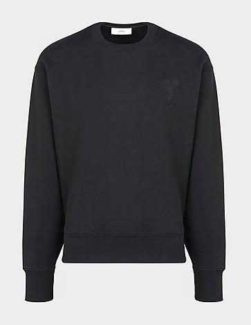 AMI Paris Large Tonal Heart Sweatshirt