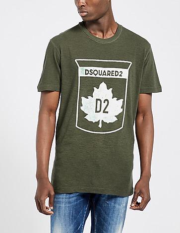 Dsquared2 Leaf D2 Badge T-Shirt
