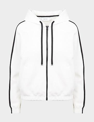 Calvin Klein Womenswear Hybrid Zip Hoodie