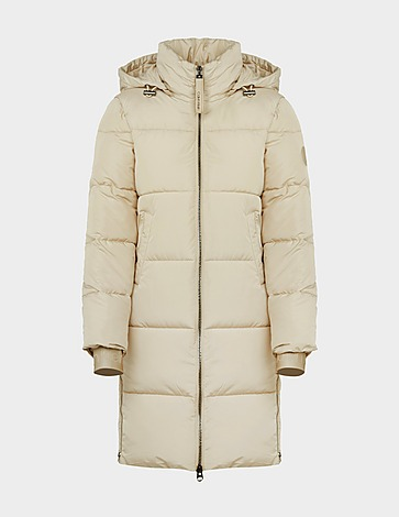 Calvin Klein Womenswear Logo Serena Long Puffa Jacket