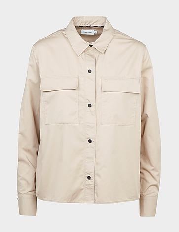 Calvin Klein Womenswear Silky Touch Shirt
