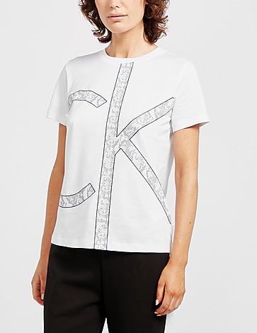 Calvin Klein Womenswear Print Logo T-Shirt