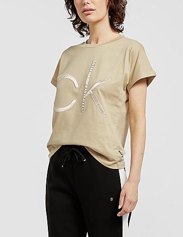Calvin Klein Womenswear Sateen T-Shirt