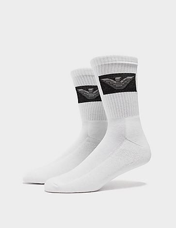 Emporio Armani Loungewear 2 Pack Eagle Socks