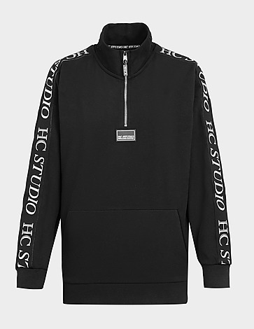Holland Cooper Studio Tape 1/4 Zip Sweatshirt